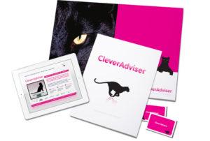 Clever Adviser financial branding more