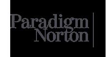 Paradigm Norton financial logo design
